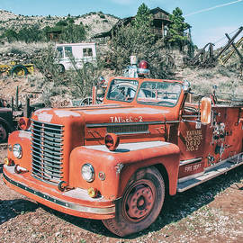 Fire Fighting Days Are Done by Andrew Wilson