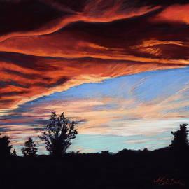 Mary Benke - Fire in the Sky