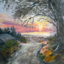 Lori Pittenger - Fire Sky and the Willows
