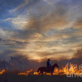Fire Up The Sunset by Crystal Nederman