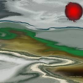 Lenore Senior - Fireball over the Landscape
