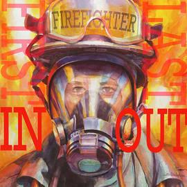 Firefighter by Steve Henderson