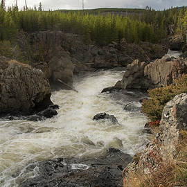 Firehole River Cascade by Cindy Murphy - NightVisions