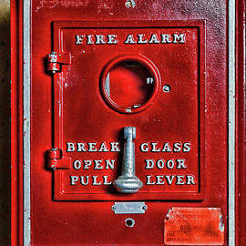 Paul Ward - Fireman-Fire Alarm Box Break Glass