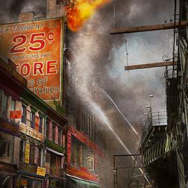 Mike Savad - Fireman - New York NY - Show me a sign 1916