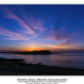 First Light At Rolling Island by Marty Saccone