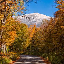 Jeff Sinon - First Snow And Fall Foliage Mount Washington