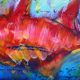 Fish 4 by Les Leffingwell