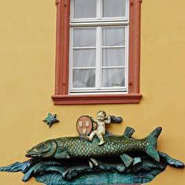 Sarah Loft - Fish and Baby