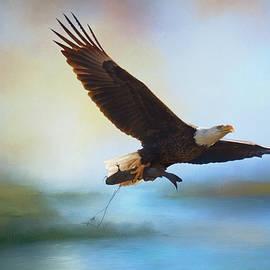Jai Johnson - Fish For Breakfast Bald Eagle Art
