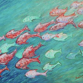 Xueling Zou - Fish in Abundance