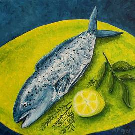 Fish on a Plate by Andrea Meyer