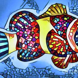Fish Print #6 by Nina Silver