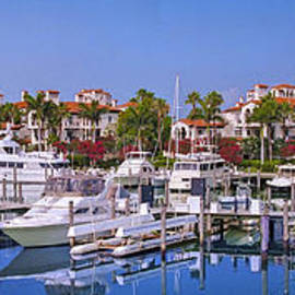 Fisher Island Florida Marina by David Zanzinger