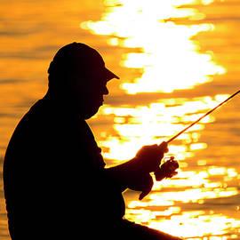 Brian Wallace - Fisherman Silhouette
