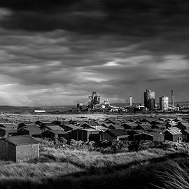 Keith Sayer - Fishermans Huts and steel works