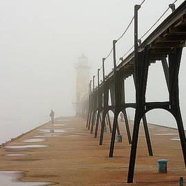 Fishermen and Fog by Randy Pollard