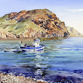 Margaret Merry - Fishing Boat At Las Negras
