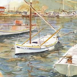 David Gilmore - Fishing Boats in Skopelos