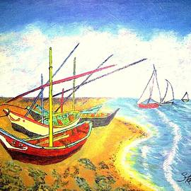 Fishing Boats by Irving Starr