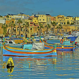Andy Za - Fishing boats. Luzzu. Marsaxlokk.