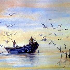 Fishing by Katerina Kovatcheva