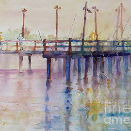 Fishing Pier by Marsha Reeves