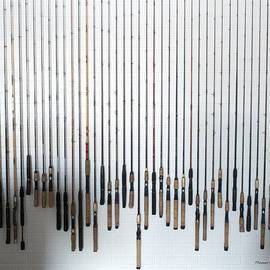 Fishing Poles by Thomas Woolworth