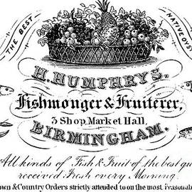 Fishmonger and Fruiterer, trade card - English School