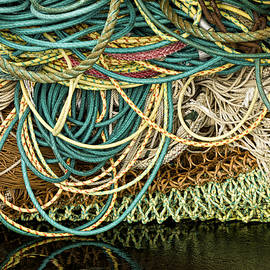 Fishnets And Ropes by Carol Leigh