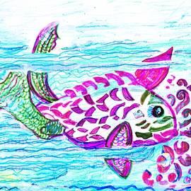 Anne-elizabeth Whiteway - Fishy Wishy Frolicking