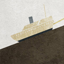 Fitzcarraldo Alternative Minimalist Poster - Ayse Deniz