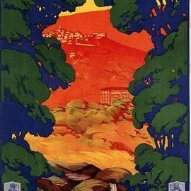 Studio Grafiikka - Fiuggi, Italy - Vintage Travel Art - Retro travel Poster - Vintage Poster