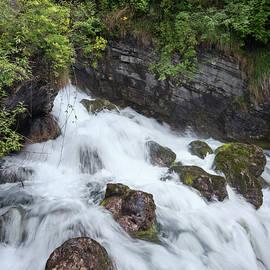 Fiumelatte Source Lake Como Italy by Joan Carroll
