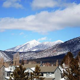 Flagstaff in Winter, Arizona, USA by Derrick Neill