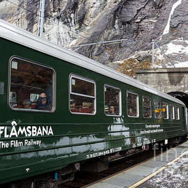 Flam Railway by Suzanne Luft