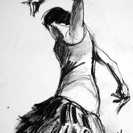 Mona Edulesco - Flamenco Sketch 2
