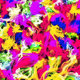Bruce Nutting - Flames in Living Color