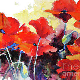 Kathy Braud - Flaming Poppies