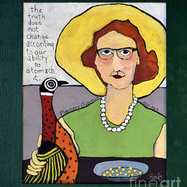 Flannery O'Connor by David Hinds