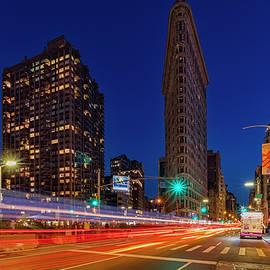 Susan Candelario - Flatiron 5th Ave Clock NYC