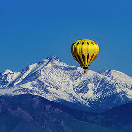 Floating Above The Mountains by Teri Virbickis