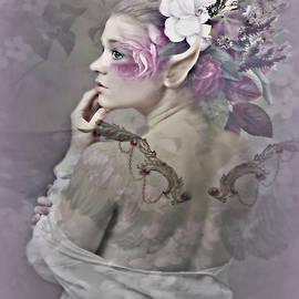 G Berry - Floral Garden Angel
