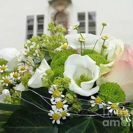 Floral Juxtaposition in Passau by Barbie Corbett-Newmin
