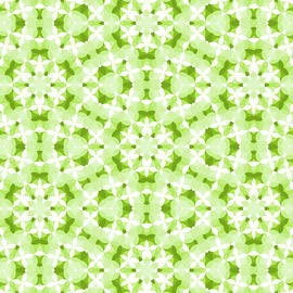 SharaLee Art - Floral Mandalas In Green