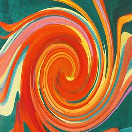 Margaret Saheed - Floral Swirl 4