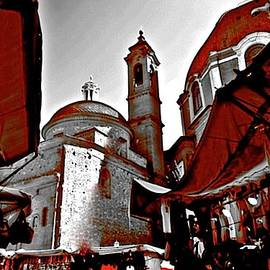 Florence Flea Market Behind Duomo by Femina Photo Art By Maggie