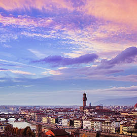 Andrew Soundarajan - Florence Skyline at Sunset