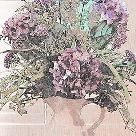 Flower Arrangement in Front of Window