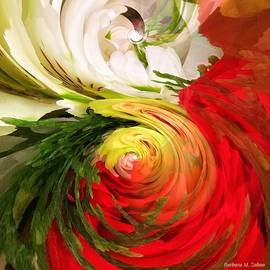 Barbara Zahno - Flower Bouquet - Abstract